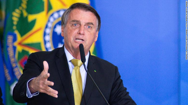 Brazil's Bolsonaro admitted to the hospital for abdominal pain and hiccups