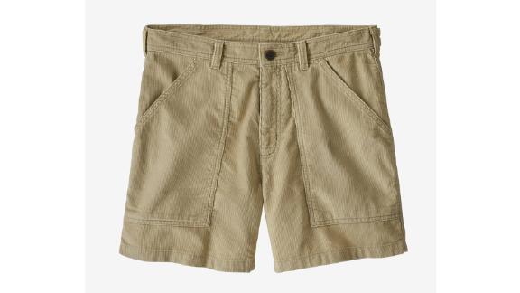 Patagonia Men's 6 Inch Organic Cotton Corduroy Utility Shorts
