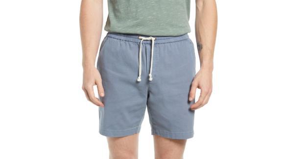 Marine Layer Saturday Twill Drawstring Shorts