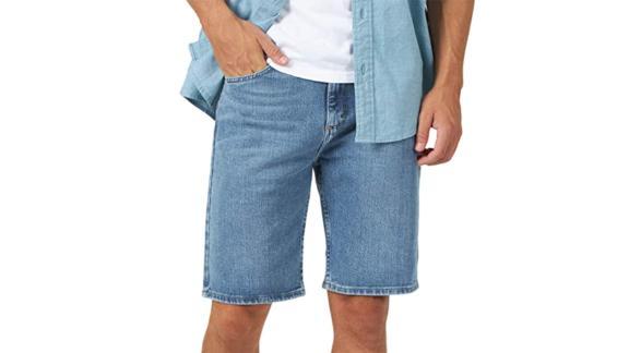 Wrangler Authentics Classic Relaxed 5-Pocket Denim Shorts