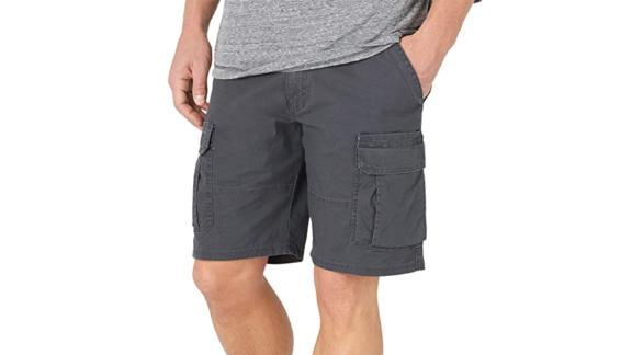 Wrangler Authentics Men's Classic Relaxed Fit Stretch Cargo Shorts