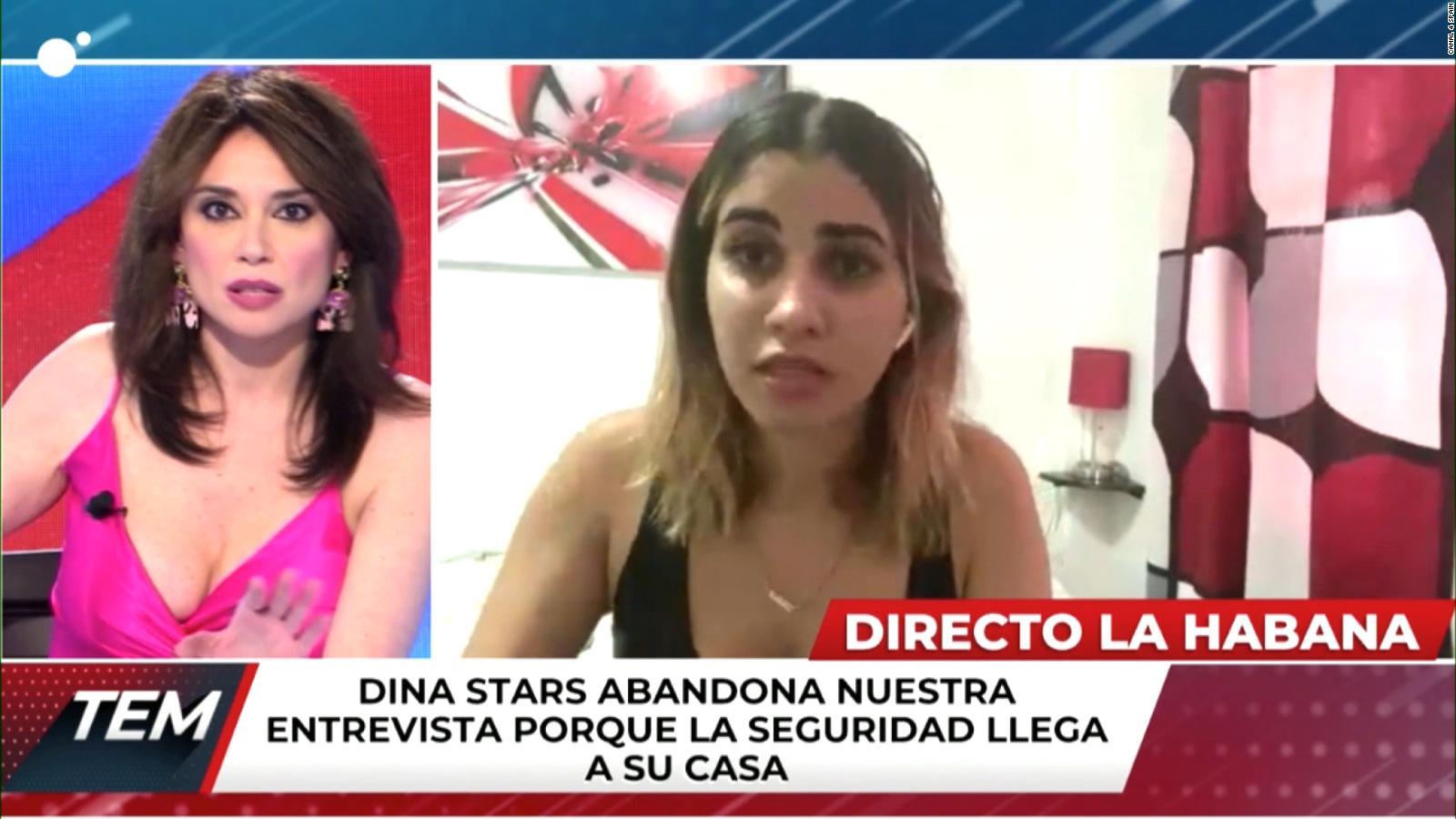 CNN: Cuban YouTuber says she is being taken away b