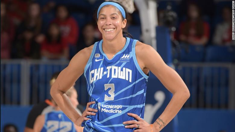 Chicago Sky's Candace Parker will be the first woman on the cover of 'NBA 2K'