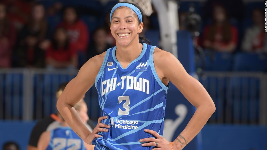 Candace Parker will be the first woman on the cover of 'NBA 2K' - CNN