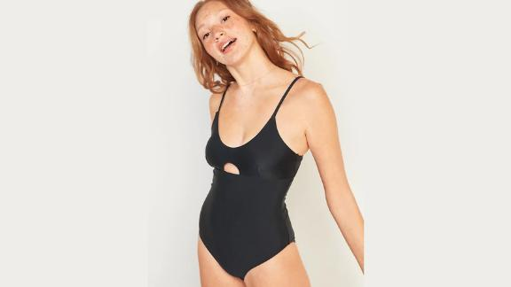 Old Navy One-Piece Keyhole Swimsuit