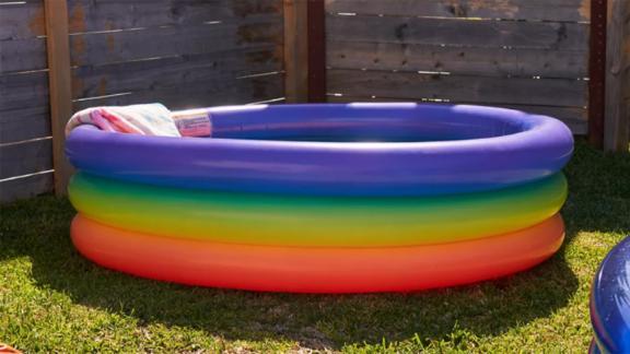 Rainbow Mini Inflatable Pool