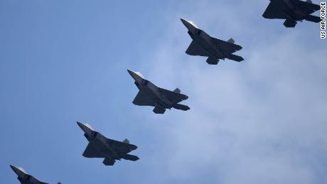 Air Force Sending Fighter Jets to Pacific Amid Tensions With China