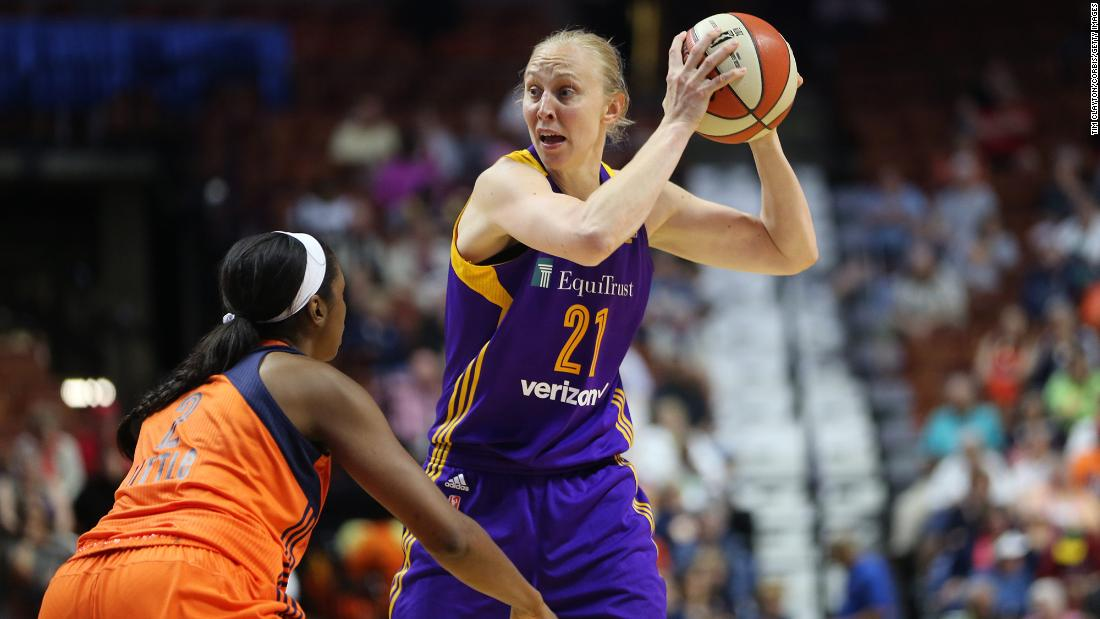 Basketball star's Olympic dream was 20 years in the making
