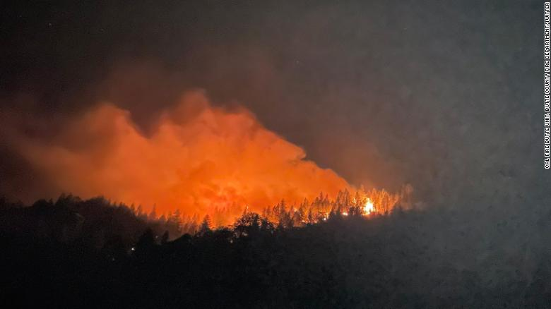California county faces new blaze after 2018 devastation of the Camp Fire