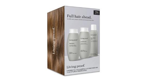 Living Proof Full-Size Full Shampoo, Conditioner & Full Dry Volume Blast Set