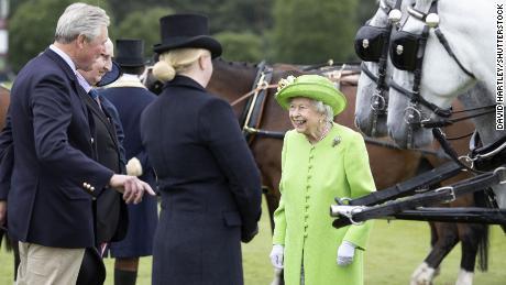 Королева на Королевском кубке Виндзора
