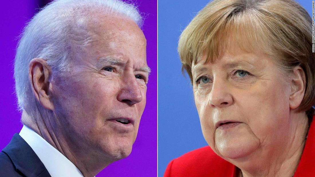 US and Germany reach deal on controversial pipeline that Biden sees as a Russian 'geopolitical project'