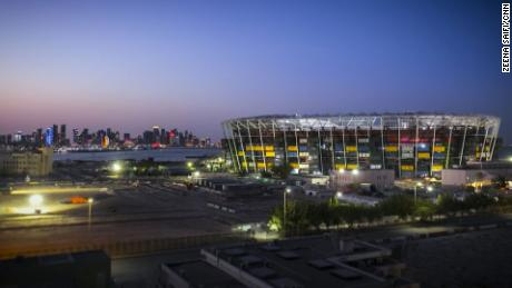 Fans can travel to the stadium via Doha Metro's Gold Line.