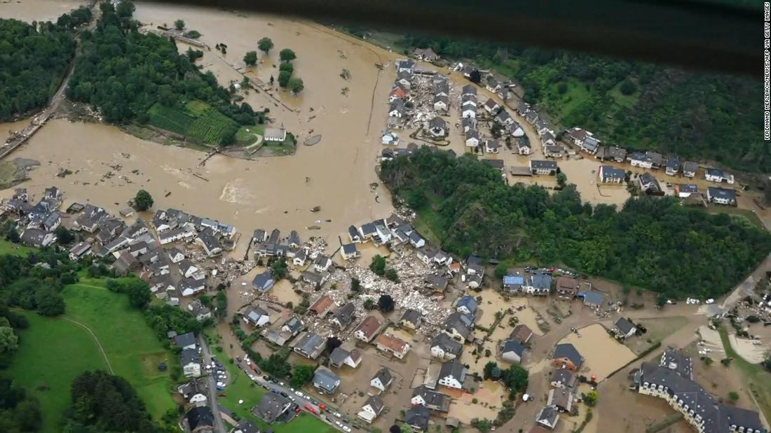 Nearly 200 people were killed in Germany and Belgium when more than an entire month's worth of rain fell in as little as 12 hours. Tens of thousands of people were unable to return to their homes left without access to power and drinking water.