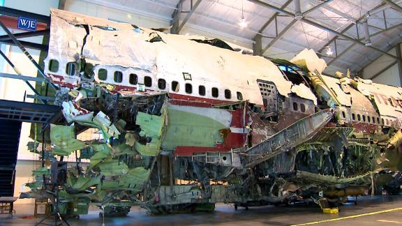 TWA 800 plane reconstruction