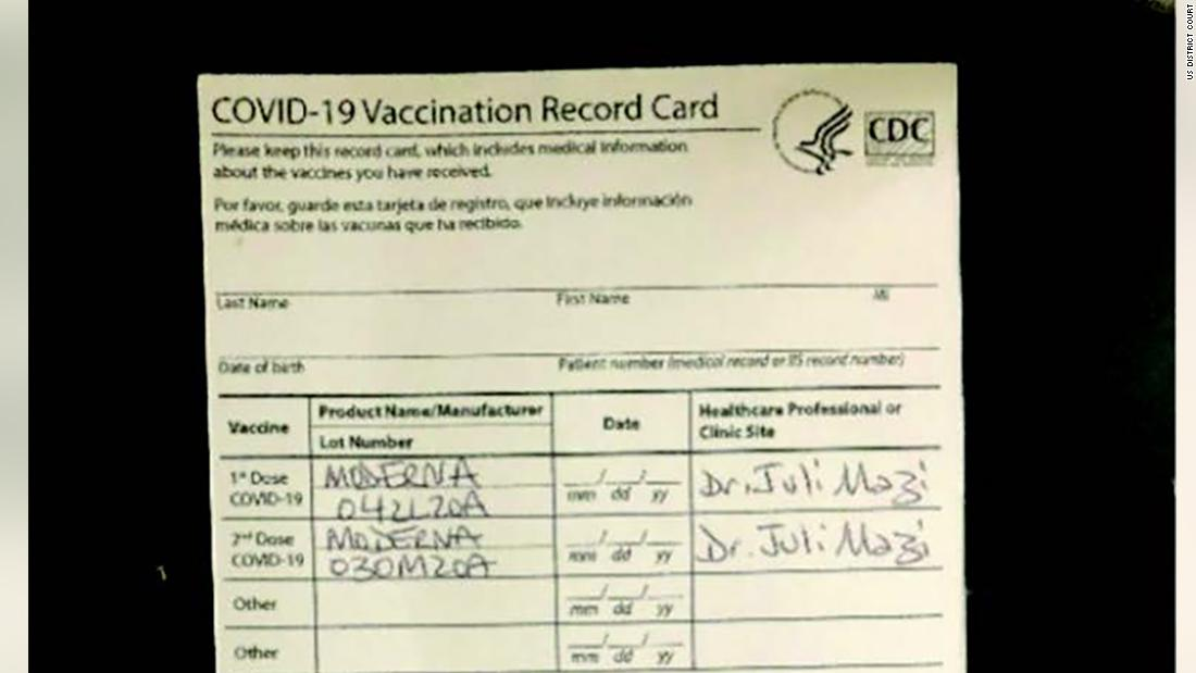 California doctor faces federal charges in fake Covid-19 vaccine scheme