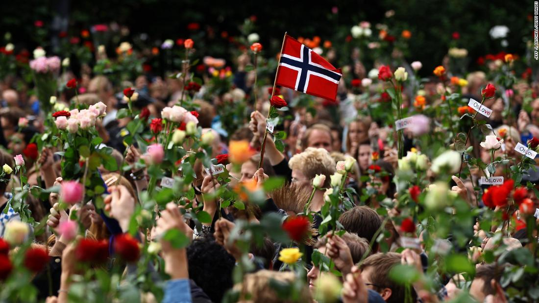 Far-right extremist killed 77 people in Norway. Decade on, 'the hatred is still out there'