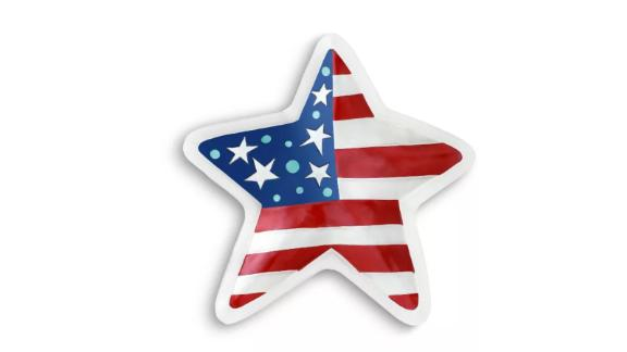 Demdaco Patriotic Star Tray Multi