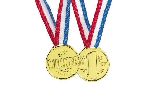 Goldtone winning medals