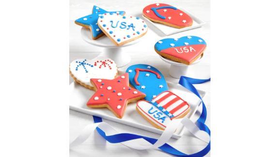 Patriotic artisan frozen cookies
