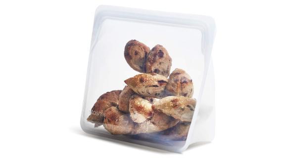 Stasher Platinum Silicone Food-Grade Reusable Storage Bag Stand-Up Mega
