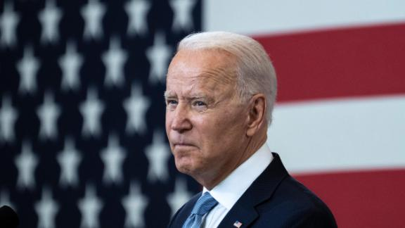 U.S. President Joe Biden speaks about voting rights at the National Constitution Center on July 13, 2021 in Philadelphia, Pennsylvania.