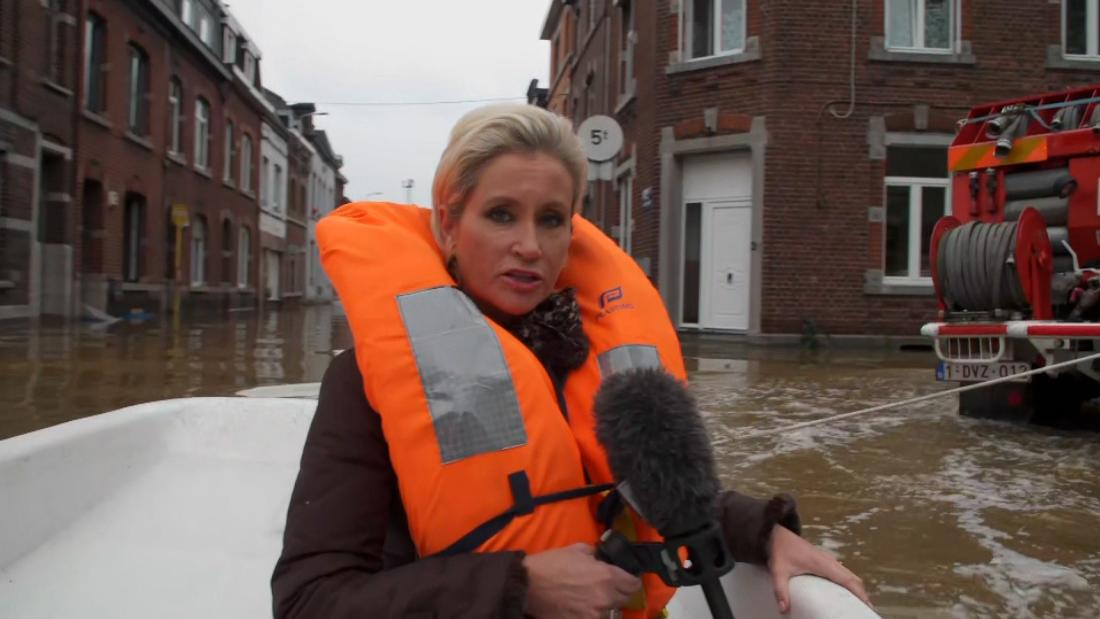 CNN correspondent reports from ground as Belgium sees extreme flooding