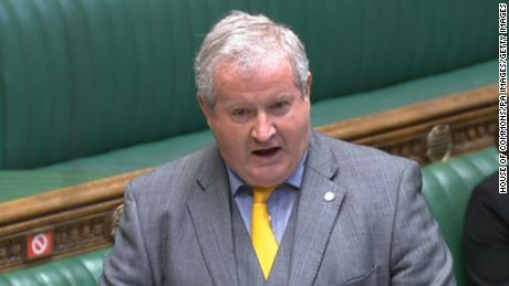 Ian Blackford speaks during Prime Minister's Questions in the House of Commons, London on Wednesday July 14, 2021.