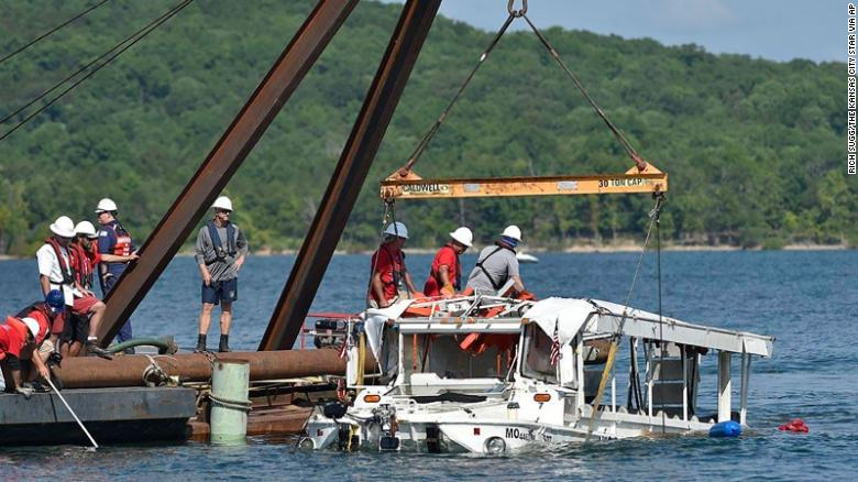 63 criminal charges filed in deadly 2018 duck boat sinking near Branson, Missouri