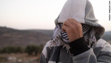 """""""We will sacrifice our souls to set this land free,"""" a Palestinian man says."""