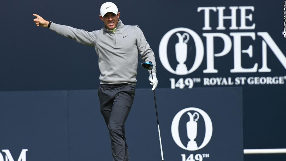 From 'unbelievable' to 'just brilliant': Rory McIlroy experiences the Open's lows and highs