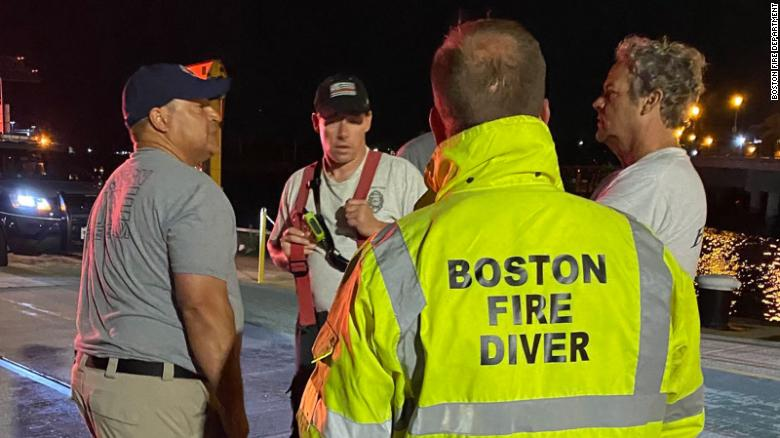 1 person missing, 7 rescued after boat accident in Boston Harbor