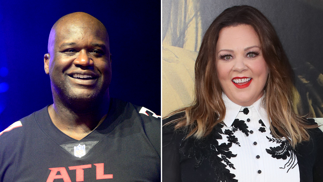 The voices of Shaquille O'Neal and Melissa McCarthy are available now on Amazon Alexa.