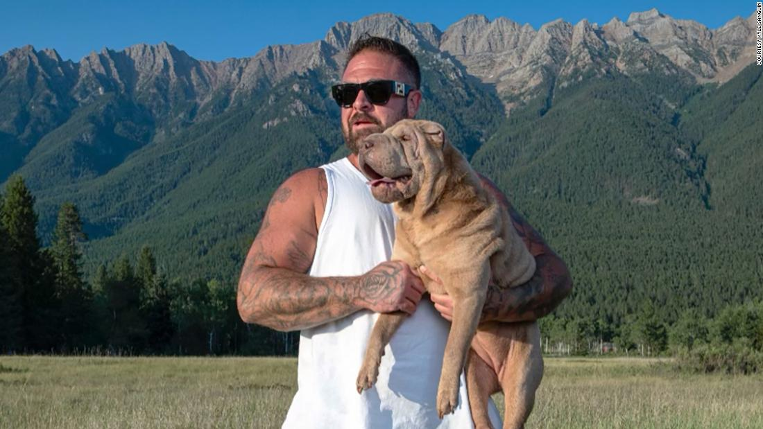 When a woman stole his dog, this man didn't press charges. Instead, he's paying for her drug rehab