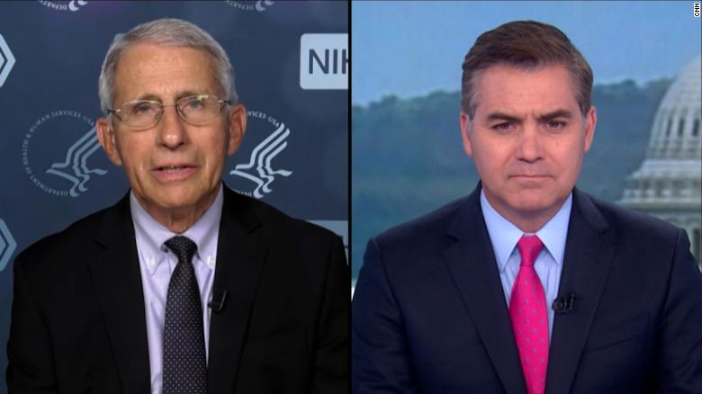 Fauci says polio would still exist in the US if the 'false information' currently being spread existed decades ago