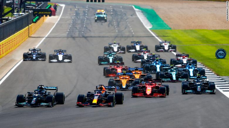 Lewis Hamilton's British Grand Prix victory puts the Briton just eight points behind Max Verstappen in the drivers' standings.
