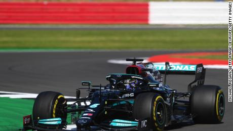 Ahead of the British GP, Hamilton had trailed Verstappen by 33 points in drivers' championship.