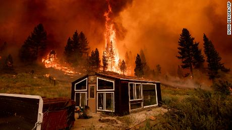 80 major fires have consumed over a million acres across western parts of the United States