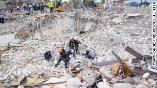 Investigation into the Surfside condo building collapse won't begin while the site remains a crime scene, expert says