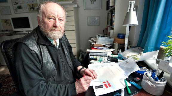 Kurt Westergaard lived under police protection after he depicted the prophet Mohammed wearing a bomb as a turban.
