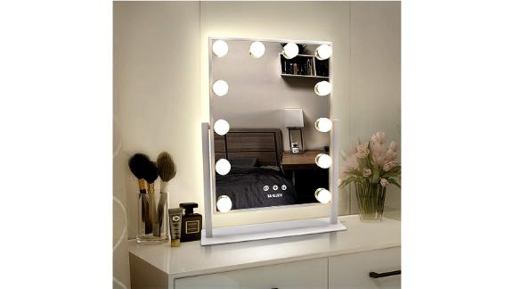 Turewell Weily Hollywood Makeup Mirror with Lights