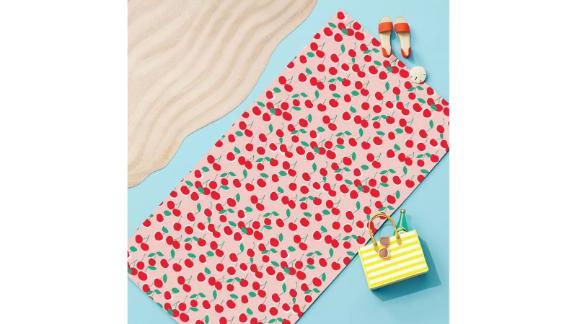 Sun Squad Cherry Beach Towel