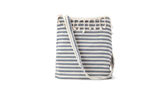 Convertible Turkish Towel-Shoulder Bag