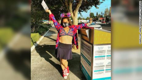 Marissa Jaret Winokur est sortie du vote et des nouvelles de sa perte de poids en novembre 2020.