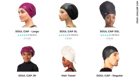EU politicians urge Olympics to lift 'exclusionary' ban on swim cap for natural Black hair
