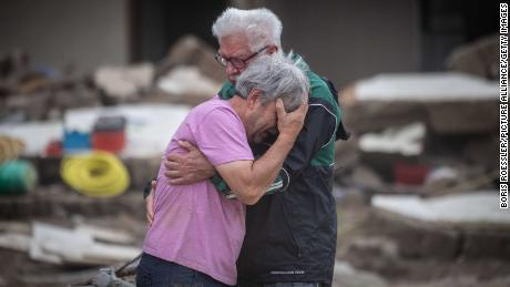 The tragedy of the floods in Europe must not have been so bad