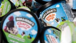 Ben & Jerry's will cease promoting ice cream in Palestinian territories
