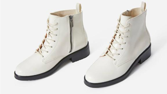 The Modern Utility Lace-Up Boot
