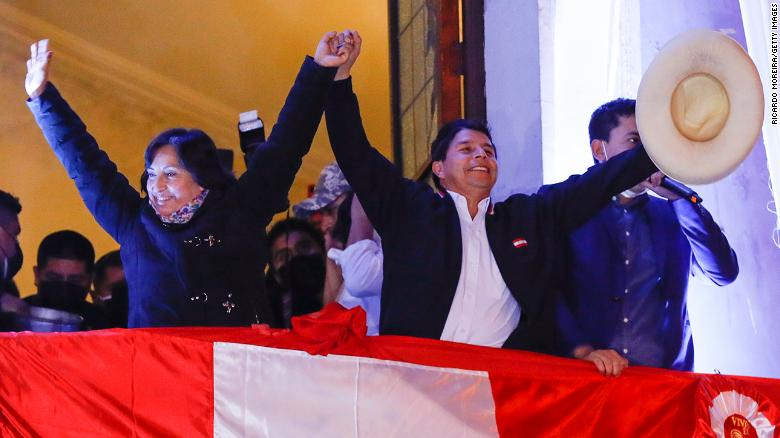 Peru's electoral authority declares Pedro Castillo President-elect, 6 weeks after runoff