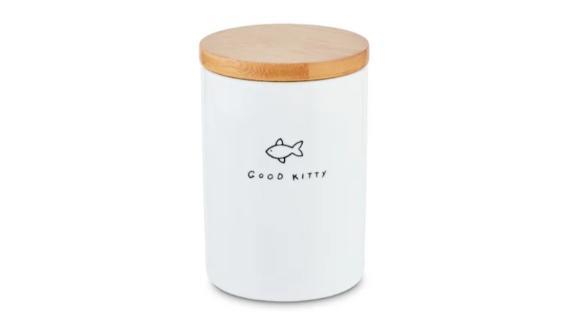 Harmony Good Kitty Ceramic Cat Treat Jar
